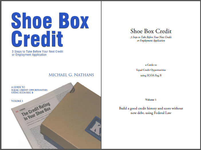 Shoe Box Credit Guide book